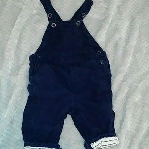 Baby Gap Boys Linned Overalls
